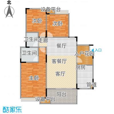 城南未来101.58㎡城南未来户型图F3室2厅2卫1厨101.58㎡(5/10张)户型10室