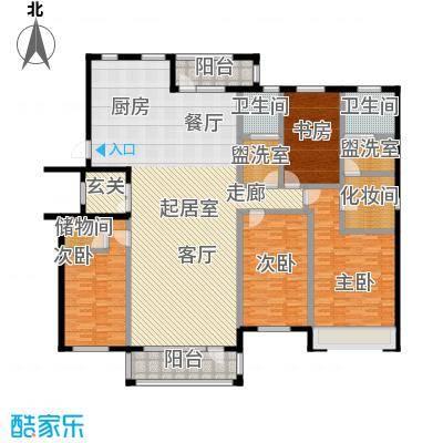 梧桐院224.90㎡4室2厅2卫户型