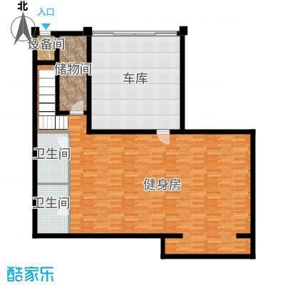 曲江公馆和园107.35㎡别墅负一层户型10室