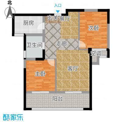 凤凰名城凤凰名城户型图(10/35张)户型10室