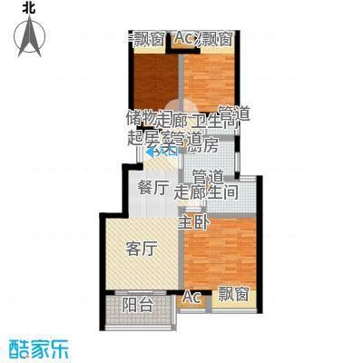 新城长岛新城长岛户型图三房两厅两卫89㎡(2/57张)户型10室