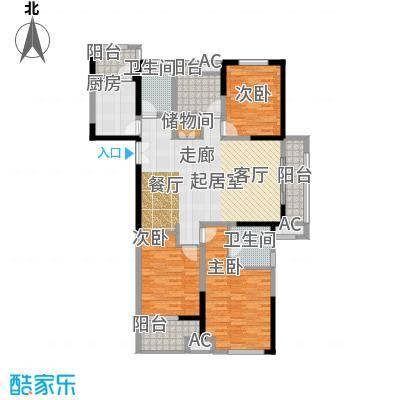 凤凰湖壹号142.00㎡【铜锣湾】1#、2#、3#、4#、10#、11#、12#、13#01、04室户型3室2厅2卫