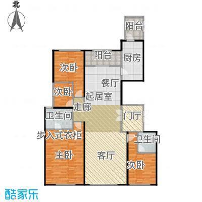 天润・香墅湾1号180.00㎡D户型3室2厅3卫