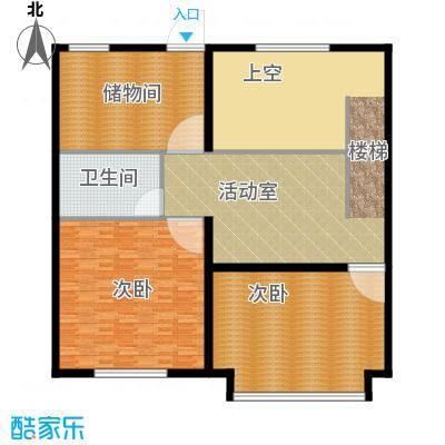 京师吉地190.00㎡K1二层户型10室