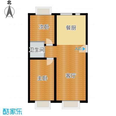 盛唐府邸83.57㎡D6户型10室
