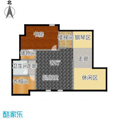 领秀・翡翠山69.00㎡F4阁楼户型4室2厅3卫