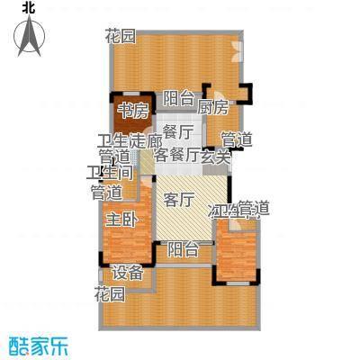 太湖锦园179.00㎡D5户型3室2厅3卫