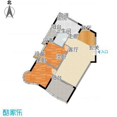 世纪金源御府76.05㎡世纪金源御府户型图图为12栋02/05户型建面96.87平米套内76.05平米(7/8张)户型2室2厅1卫
