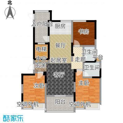 吟枫苑吟枫苑户型图三房两厅两卫-116.16平方米-17套(3/21张)户型10室