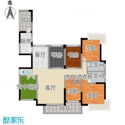 金域中央天玺175.06㎡28栋02177―户型4室1厅2卫1厨