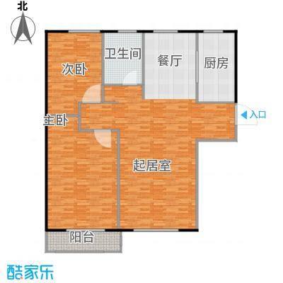 岭湾峰尚85.00㎡户型10室