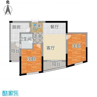 道生中心102.00㎡道生中心户型图(3/3张)户型2室2厅1卫