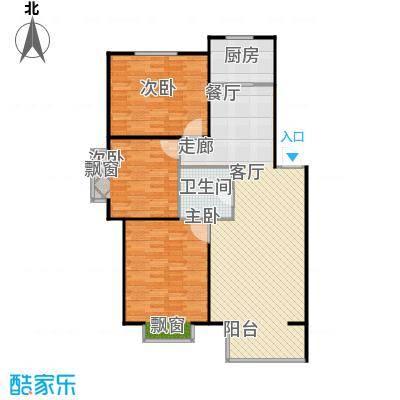 上院99.00㎡上院户型图三室两厅一卫(30/30张)户型10室