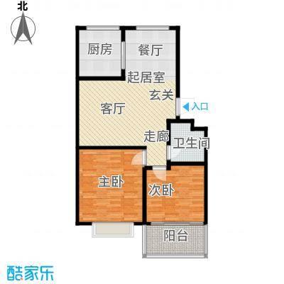 天建天和园73.60㎡天建天和园户型图二房(2/2张)户型10室