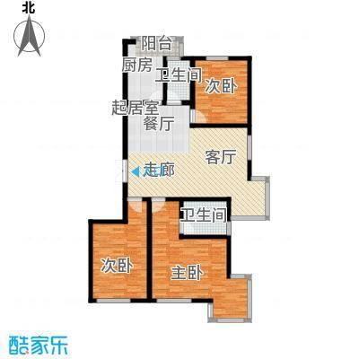 海东公馆135.26㎡海东公馆户型图(2/4张)户型10室