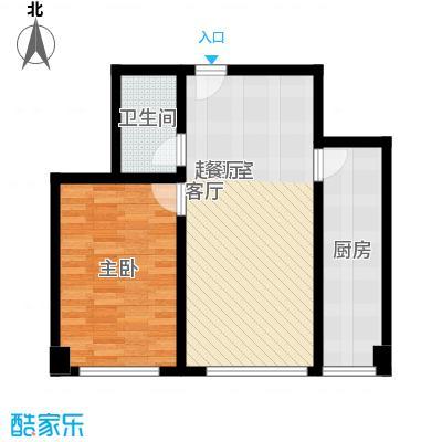 上东领海71.73㎡上东领海户型图(15/15张)户型10室