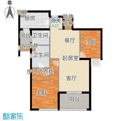莱蒙时代莱蒙时代户型图4号楼精装C2(5/20张)户型10室