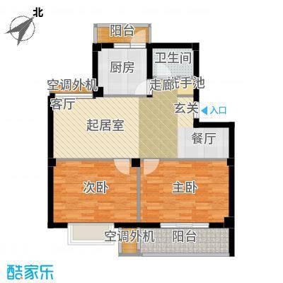 盛世又一村盛世又一村户型图二房两厅一卫(7/11张)户型10室