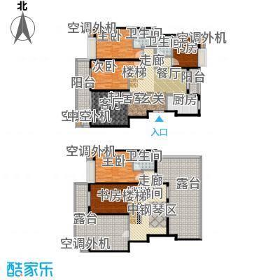 金田雅居金田雅居户型图B户型面积约210平方(2/11张)户型10室