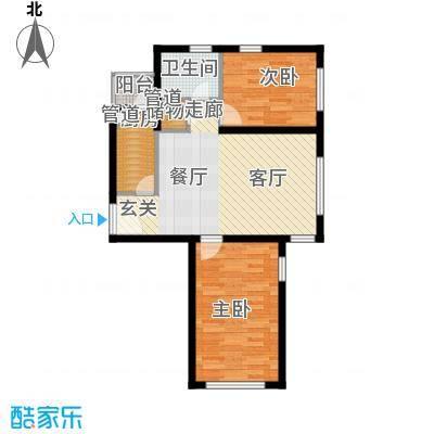 青橙部落青橙部落户型图两室一厅(1/5张)户型10室
