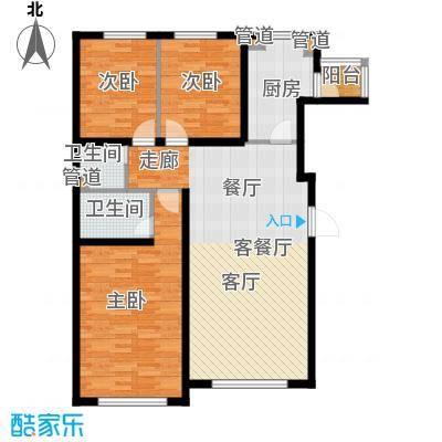 青橙部落青橙部落户型图三室一厅(5/5张)户型10室
