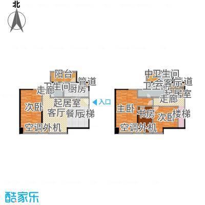 保利百合花园127.00㎡A1户型 四室两厅三卫 实得面积约179平米户型4室2厅3卫