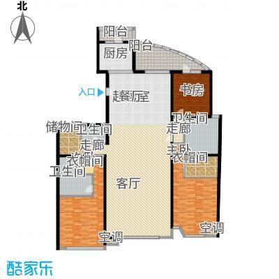 上东领海267.45㎡上东领海户型图四室两厅三卫(7/15张)户型10室