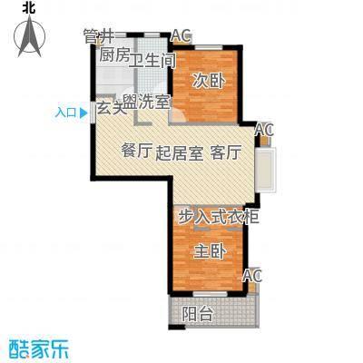 颐和名苑101.00㎡颐和名苑户型图B户型(2/5张)户型10室