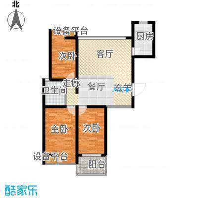 香江壹品111.00㎡香江壹品户型图三房二厅一卫-111平方米(7/10张)户型10室