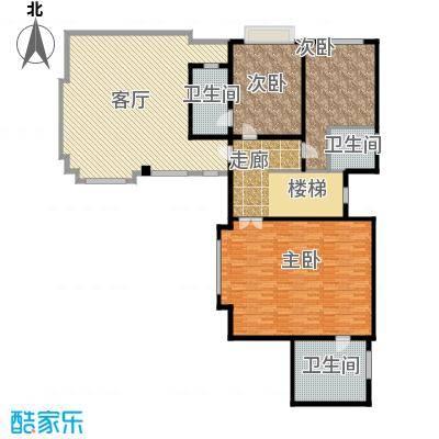 滨海湖147.00㎡独栋二层H户型3室2厅3卫
