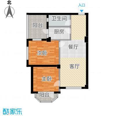 中信润泽园90.00㎡D2户型10室