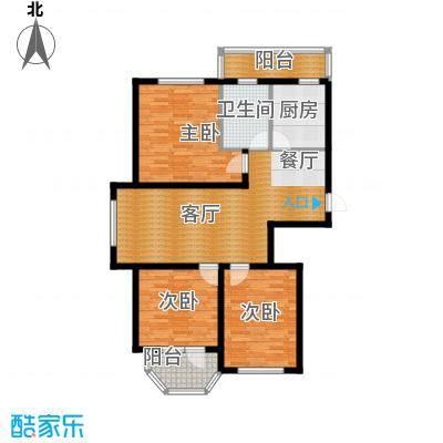 中信润泽园102.34㎡户型10室