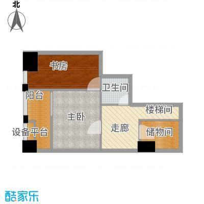 壹加壹空间58.14㎡壹加壹空间户型图C户型2层2室2厅2卫(5/6张)户型2室2厅2卫