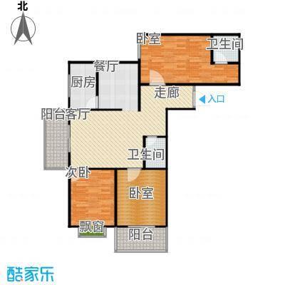 阳光80公寓114.52㎡阳光80公寓户型图I'户型3室2厅2卫(10/18张)户型3室2厅2卫