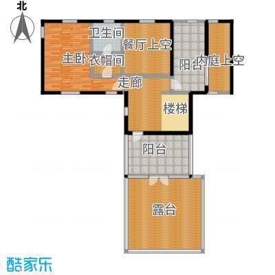 中冶南方韵湖首府242.00㎡D1户型 二层 3室2厅4卫户型3室2厅4卫