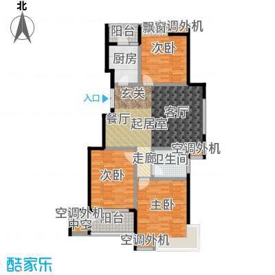 金田雅居105.04㎡金田雅居户型图105.04(1/5张)户型10室