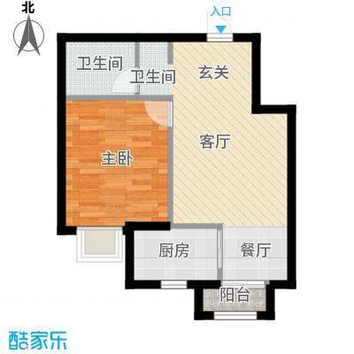知语山49.31㎡户型10室