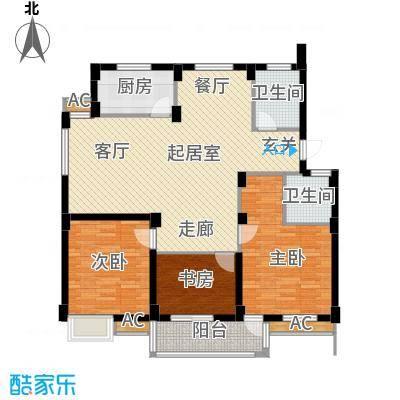 颐和名苑颐和名苑户型图三房-120㎡(14/15张)户型10室