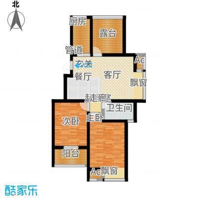 新城长岛新城长岛户型图89平米(44/57张)户型10室