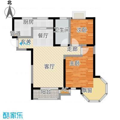朗钜帕蒂奥21、23#-4室2厅1卫户型