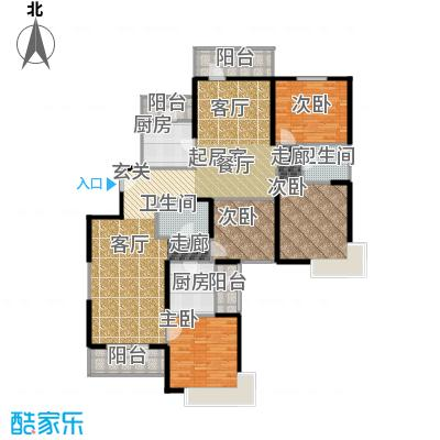 天津湾海景文苑204.00㎡C4户型4室2卫2厨