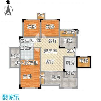 蓝溪谷地110.92㎡蓝溪谷地户型图图为5FA户型套内110.92平米建面128.25平米(13/28张)户型3室2厅2卫