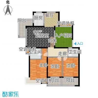 荣宏富家137.00㎡一期10、11号楼多层A1户型3室2厅2卫