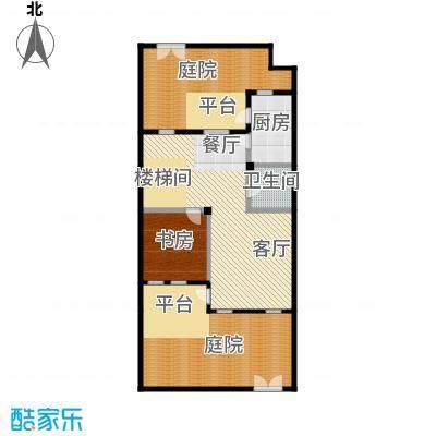 首府136栋199.13㎡澜溪园一、三区独栋H户型10室