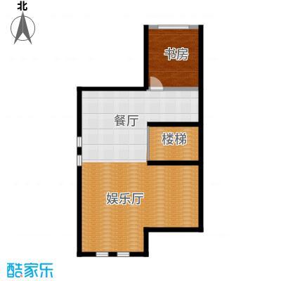 万通龙山逸墅80.65㎡1F娱乐室户型10室