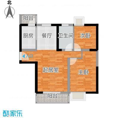 朗钜天域95.86㎡20#C标准层户型10室
