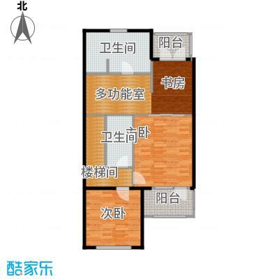 龙湖・香醍溪岸洋房291.00㎡NN-S二层户型10室