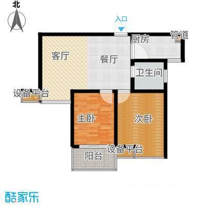 香江壹品香江壹品户型图83㎡(4/38张)户型10室