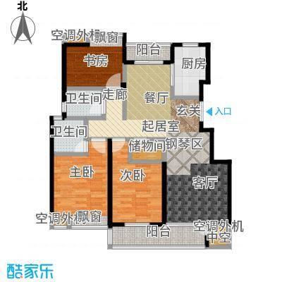 金田雅居105.04㎡金田雅居户型图136.62(2/5张)户型10室
