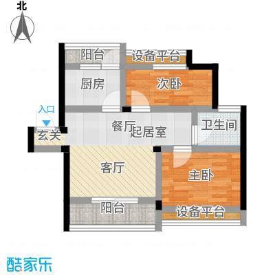 古城新境古城新境户型图二房-94㎡(1/17张)户型10室